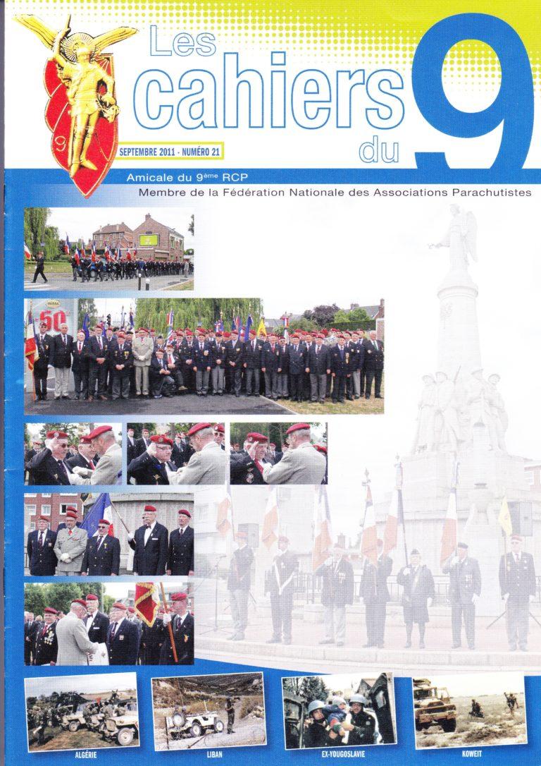 N°21 - Septembre 2011