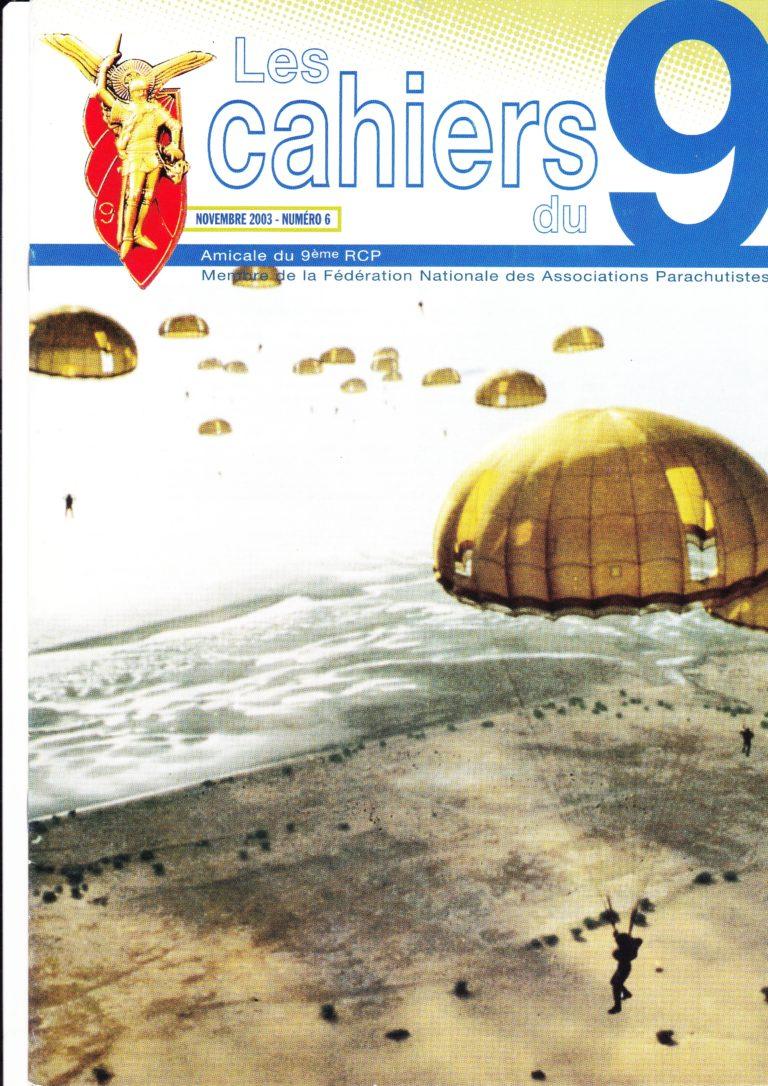 N°6 - Novembre 2003
