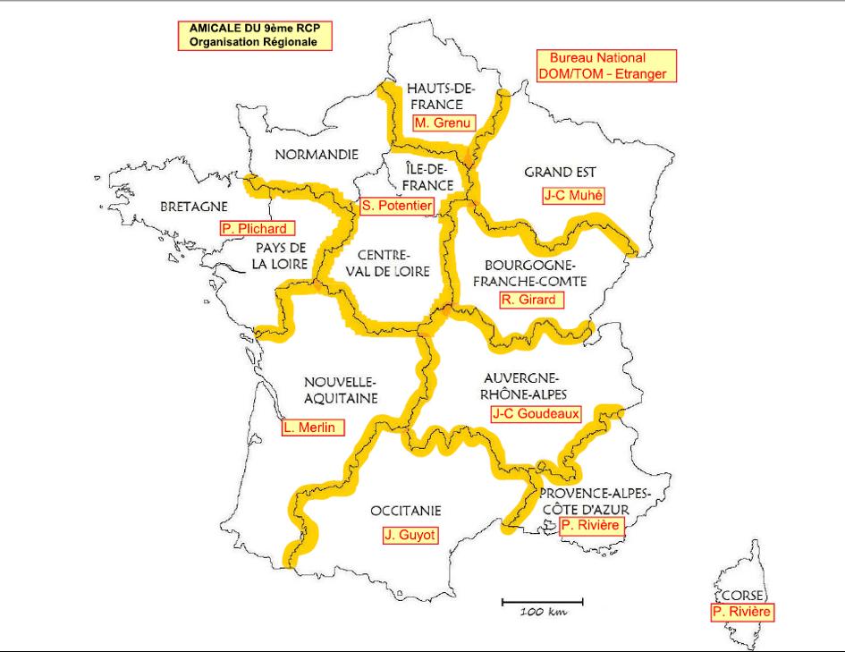 Nouvelle organisation régionale 2021